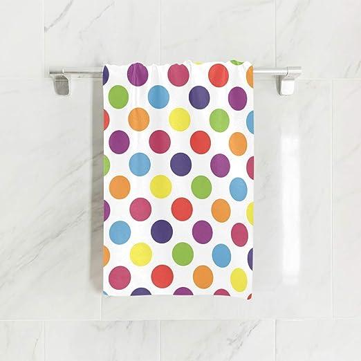 NEW Christmas hand towel ornaments 100/% cotton polka dots