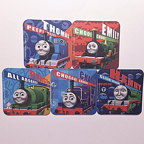 Thomas the Train Tank Engine & Friends, 5 Fridge Magnet Set, Kids Party Favors