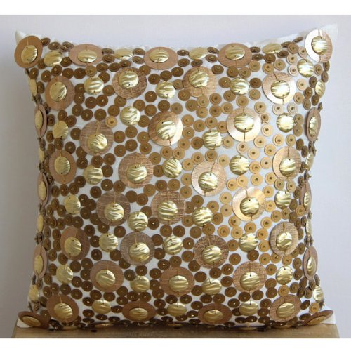 3D Gold Sequins Glitter Pillows