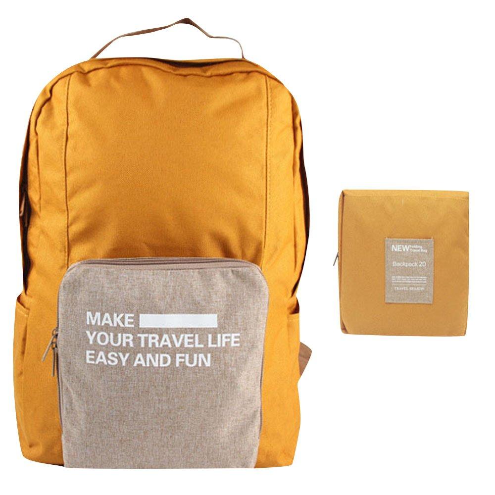 Caremore Caremore Caremore ligero Fodable del unisex mochila impermeable mochila grande capacidad, naranja 56e15f
