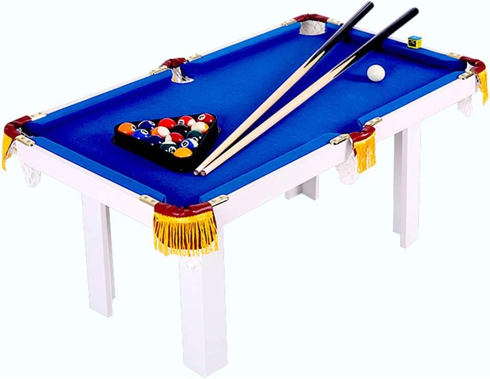 PKMA Mini Juegos de Mesa de Billar, diseño Robusto, Tablero de ...