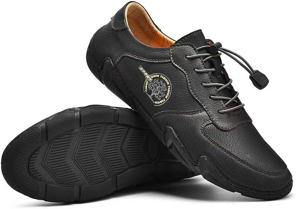 Men Fashion Casual Flat Shoes Faux Leather Low-Top Boots Warm Anti-slip Soft MSZ