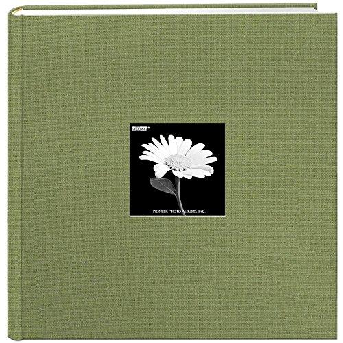 Pioneer Photo Albums DA-500CBF/SG Photo Album, 4'' x 6'', Sage Green by Pioneer Photo Albums