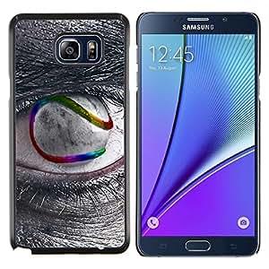 """Be-Star Único Patrón Plástico Duro Fundas Cover Cubre Hard Case Cover Para Samsung Galaxy Note5 / N920 ( Sci Fi de ojos"""" )"""