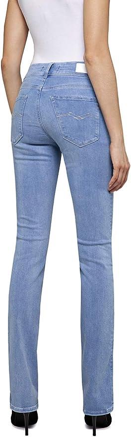 Replay Damska Luz Bootcut Jeans: Odzież