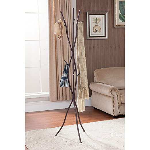 K & B Furniture - Perchero de Pared de Rama de árbol, 71 ...