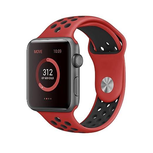 143 opinioni per Cinturino Apple Watch, Elobeth Apple Watch Serie 1 Serie 2 Morbido Braccialetto