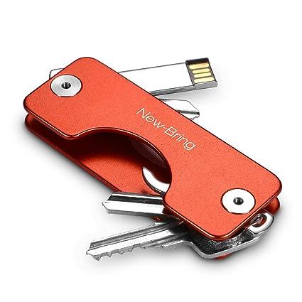 new-bring | G2 compacto de metal titular de la clave llavero ...