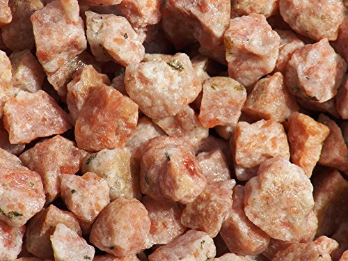 (Fundamental Rockhound Products: Rough SUNSTONE Natural Bulk Rock for Tumbling, Metaphysical Use, Gemstones Healing Crystals Wholesale Lot from India (2 lb))