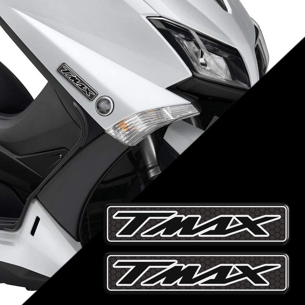 LIWIN Moto Accessori Moto Scooter TMAX Adesivi YAMAHA TMAX530 TMAX500 TMAX560 TMAX750 distintivo dellemblema del carro armato T MAX 400 500 530 560 Adesivi Color : TMAX 5