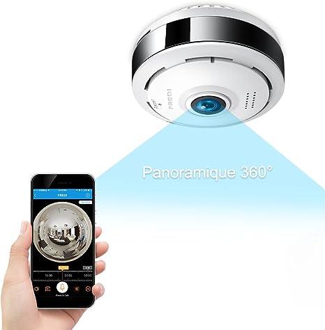 Cámara seguridad WiFi 960p Fredi IP, cámara de vigilancia ...