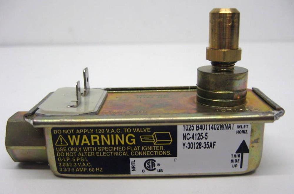Cooking Appliances Parts 30128-35AF Gas Range Oven Safety Valve for Electrolux 3203459 AP2131109 PS446204