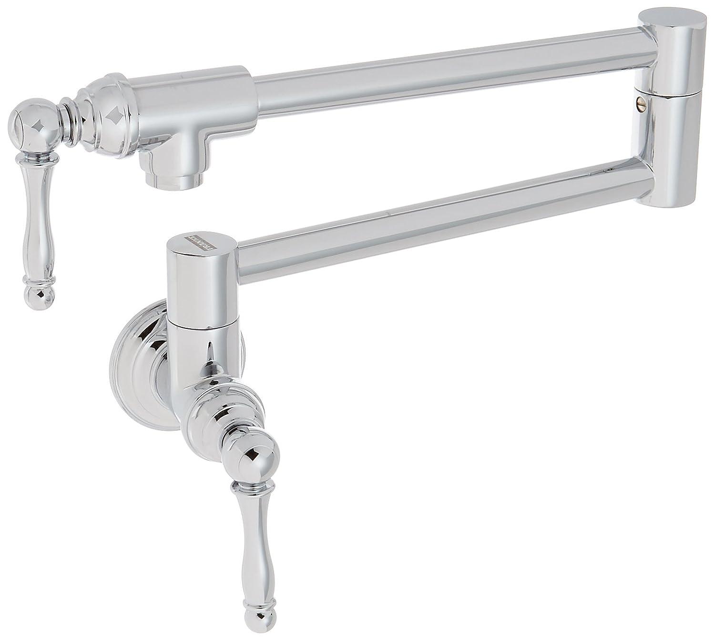 Franke PF3300 Farm House Kitchen Faucet Series Wall-Mounted Pot Filler, Chrome