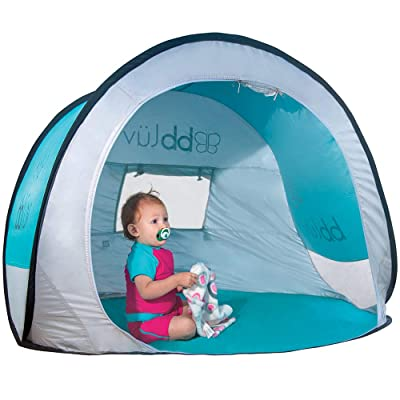 Sunkitö Pop Up Play Tent and Canopy Sun Shelter with SPF 50 + Mosquito Net, Perfect for Infant at The Beach, Park, Camping or Playroom, Folds Flat for Easy Travel, Carry Bag Included : Baby