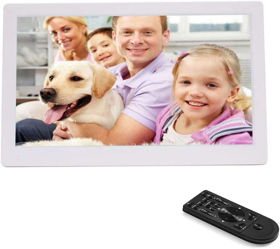 WMWHALE 11.6 Inch Digital Photo FHD 1920 1080 IPS Screen Digital Picture Frame Support Calendar//Clock//MP3//Photos with Remote Control Gift Choice
