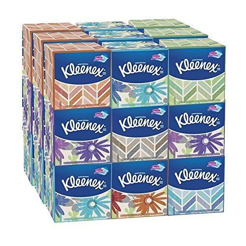 Kleenex Everyday Facial Tissues, 80 ct, (Pack of 27) by Kleenex