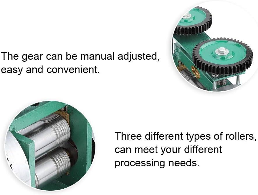 die Werkzeug-Verarbeitungs-Ausr/üstung herstellen manuelle Kombinations-Walzwerk-Maschinen-Schmucksachen Cosiki Manuelle Walzwerk-Maschine