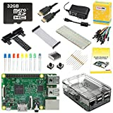 PC Hardware : CanaKit Raspberry Pi 3 Ultimate Starter Kit - 32 GB Edition