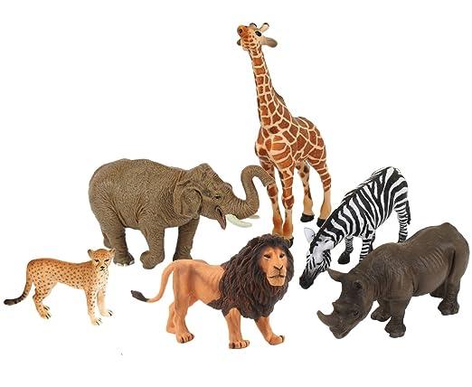 Amazon Com Ericoo Animal Toys Set Educational Resource High
