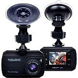TOGUARD Mini Telecamera per Auto Dash Cam Full HD 1080P, DASHCAM Grandangolo, Capteur-G, Registrazione Continua - Scheda Micro SD Non Inclusa nel Pacchetto