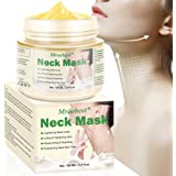 Neck Mask Cream, Neck Firming Mask, Moisturizing Neck Mask, Neck Tighten Mask, Visibly Lift and Tighten Crepey Skin…