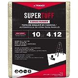 Trimaco 51127 SuperTuff Drop Cloth, 4-feet x 12-feet, Tan
