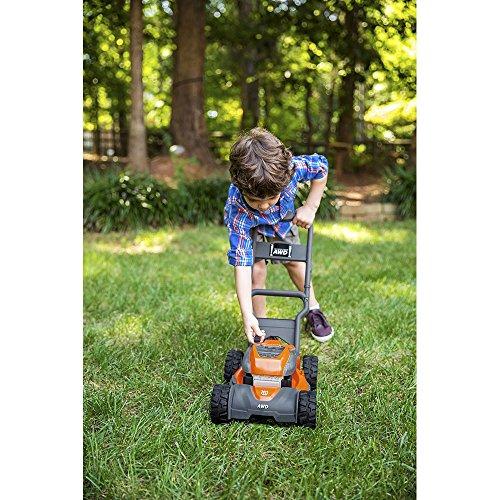 61I51rX534L - Husqvarna 589289601 Toy Lawn Mower for HU800AWD