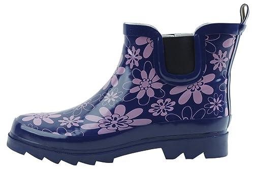 garden boots. New Women\u0027s Short Ankle Rubber Rain Boots Garden Boots/ Bottes De Pluie Available In 4 Styles: Amazon.ca: Shoes \u0026 Handbags