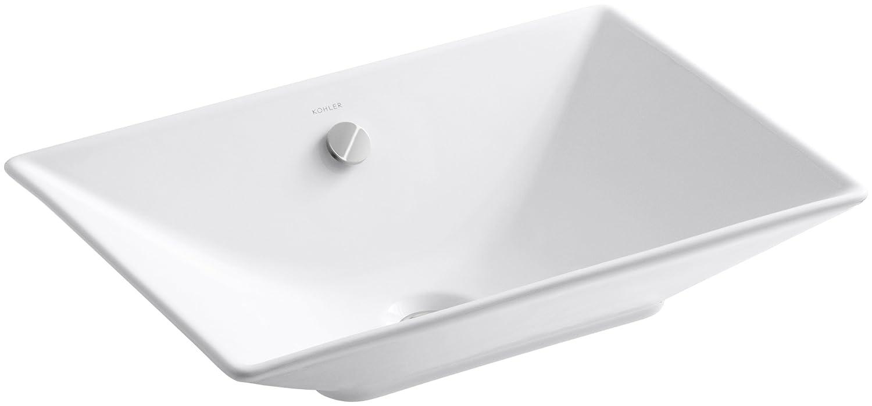 kohler k48190 reve vessels bathroom sink white vessel sinks amazoncom