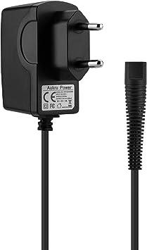 Aukru Cargador 12v de la afeitadora eléctrica de Braun, Compatible ...