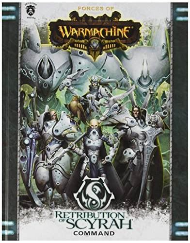 Privateer Press Forces of Warmachine: Retribution of Scyrah Command HC (Book) Miniature Game Model by Privateer Press