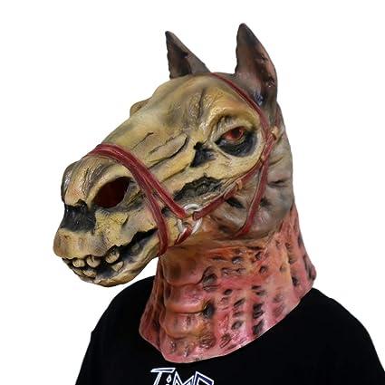 Amazon.com: gmask máscara de látex de mal de cabeza de ...