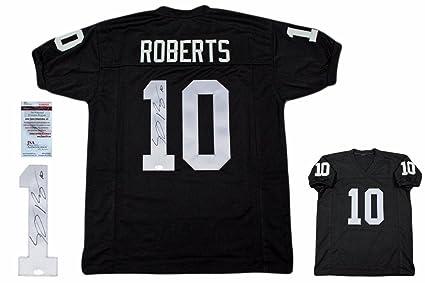 Signed Seth Roberts Jersey - Witnessed - JSA Certified - Autographed NFL  Jerseys c82a91993