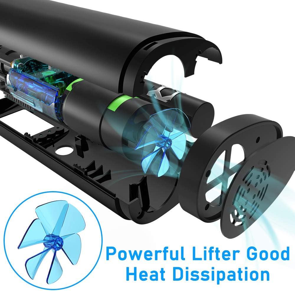 moto avec /écran LCD num/érique et lampe de poche LED balles multifonction pour voiture VEEAPE Compresseur dair portable avec batterie rechargeable 2000 mAh mini pompe de v/élo /électrique etc