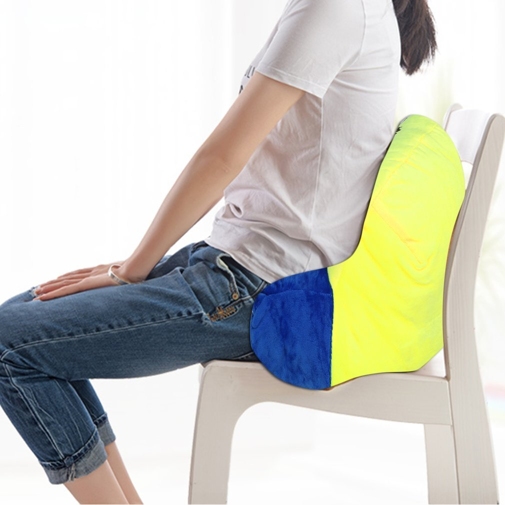 Graspwind Reading Pillow Bedrest Reading and TV Pillow with Arm Rests Sit up Pillow Great as Backrest for Books or Gaming