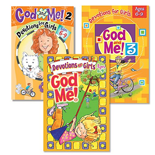 God and Me!® 3 Book Girls Christian Devotional Bundle, Vol. 1-3 - Ages 6-9