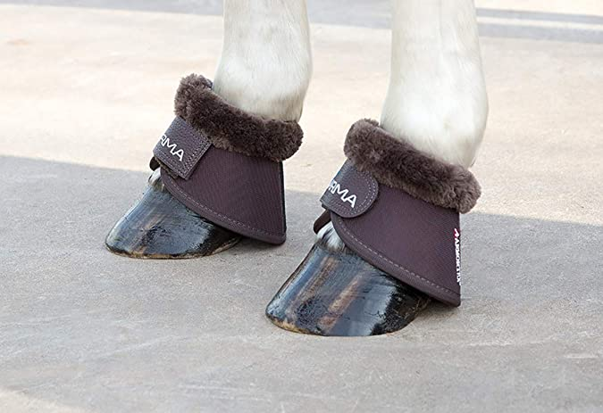 Shires Arma Fur Trimmed Over Reach Boots
