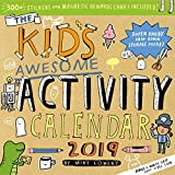 Kid s Awesome Activity Wall Calendar 2019