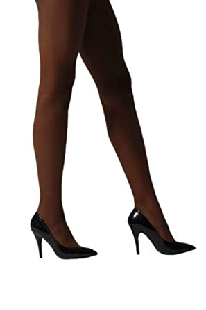 cf9d10ea751 Pendeza Women s 1 Pair 15 Denier Tone 20 Sheer Tights For Darker Skin Tones  Small Skintones