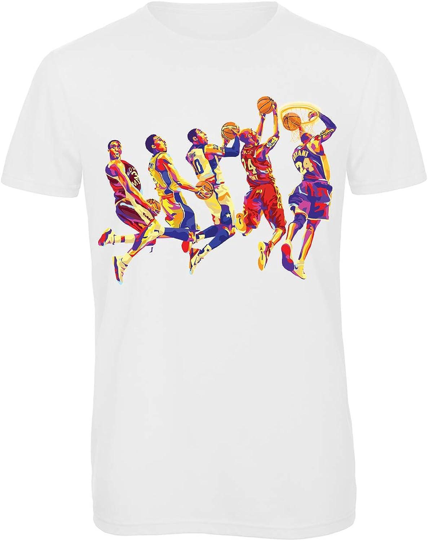 Bughyprint Tshirt Maglia Maglietta Uomo Evoluzione Evolution Basket