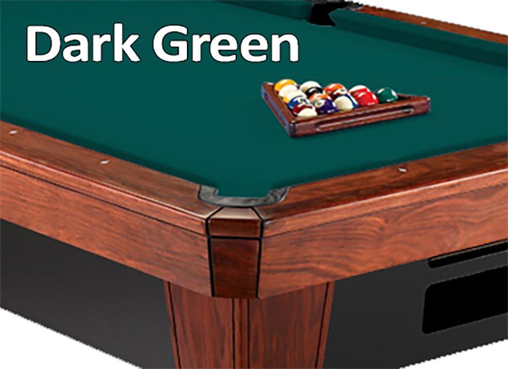 12 'シモニスクロス860ダークグリーンビリヤードPool Table Clothフェルト B00K4JKS6I