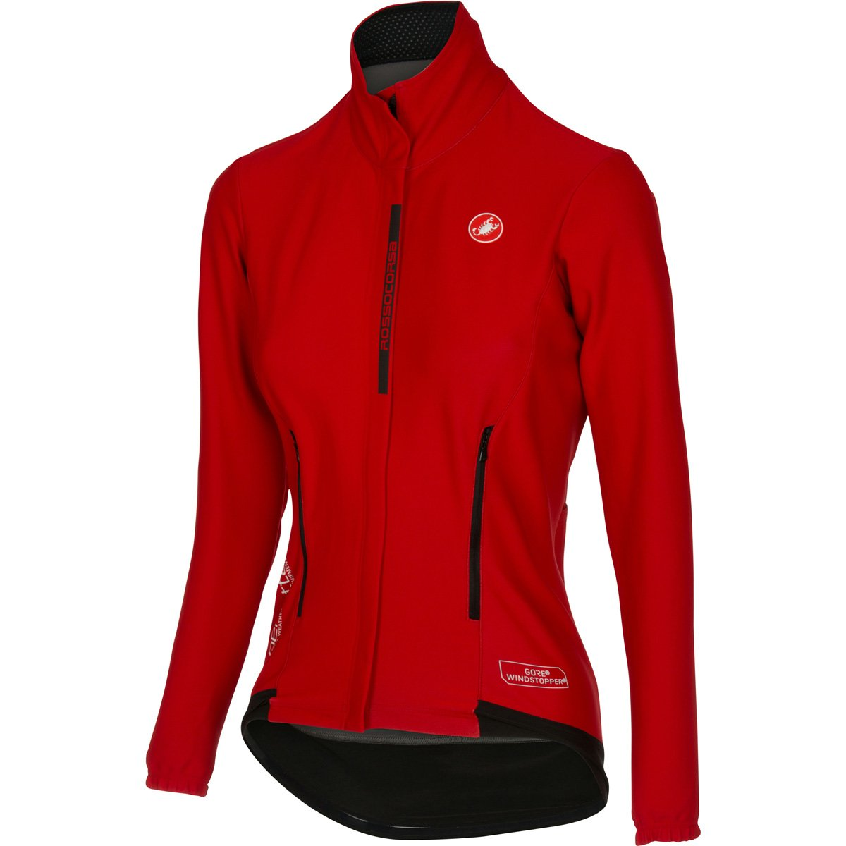 Castelli Perfetto Jersey – Women 's B01LX9MKEF Large|レッド レッド Large