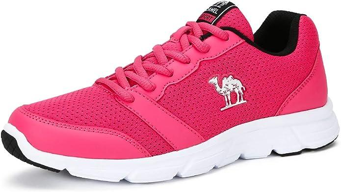CAMEL CROWN Zapatos para Correr para Mujer, Antideslizante ...