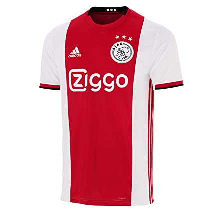 the best attitude 25ec1 e109f Amazon.com : adidas 2019-2020 Ajax Home Football Soccer T ...