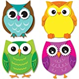 Carson Dellosa Colorful Owls Mini Cut-Outs (120195)