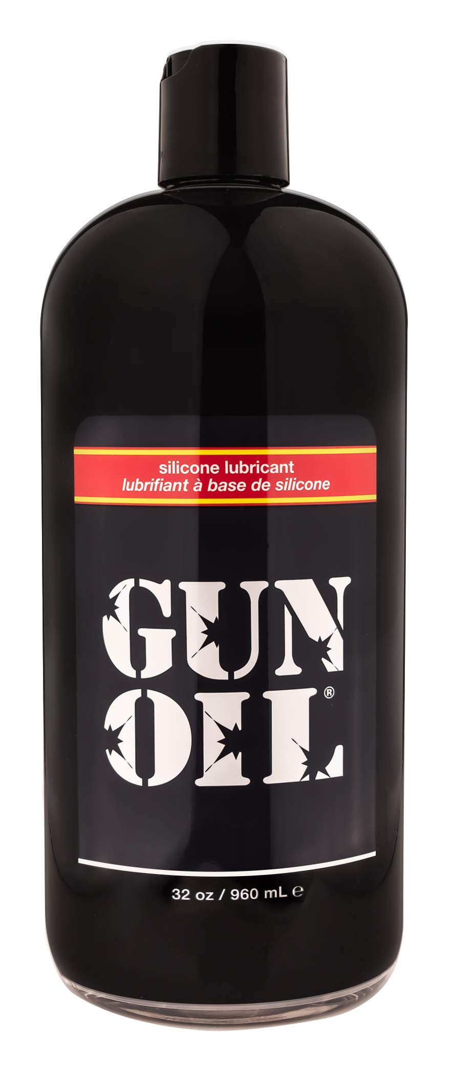 GUN OIL Silicone Lubricant - Hypoallergenic Silicone-Based Lubricant Enriched With Aloe Vera & Vitamin E For Maximum Comfort And Long-Lasting Lubrication ( 32 Fluid Ounce - 1000 Milliliter ) by Gun Oil