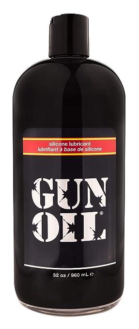 GUN OIL Silicone Lubricant - Hypoallergenic Silicone-Based Lubricant  Enriched With Aloe Vera & Vitamin E