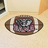"Alabama Crimson Tide 22""x35"" Football Floor Mat (Rug)"