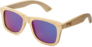 3576c5e49e Proof Eyewear Unisex Ontario Maple Wood Handcrafted Water Resistant Wooden  Sunglasses
