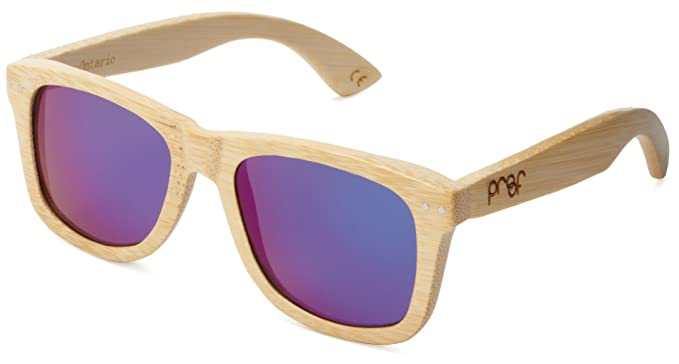 485532a177 Amazon.com  Proof Ontario Wood Eco-Friendly Wooden Sunglasses  Clothing